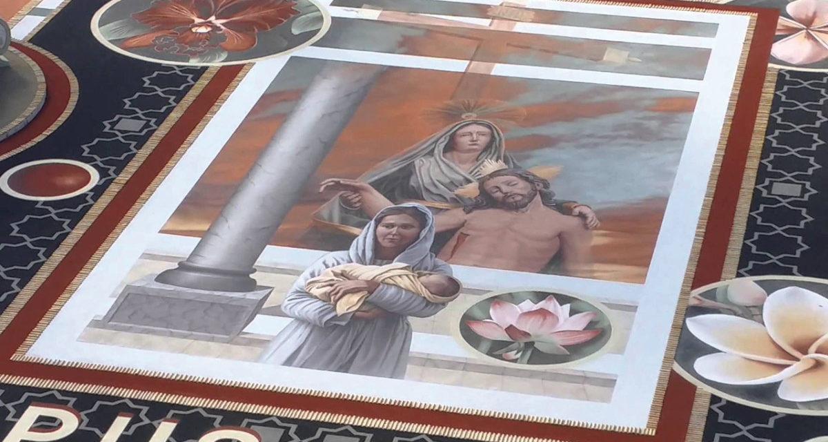 Arte Efímero en La Orotava
