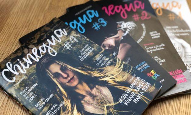 La revista cultural Chinegua abrió anoche una nueva etapa con la presentación de su cuarta edición
